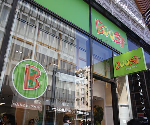 boost juice galleria melbourne