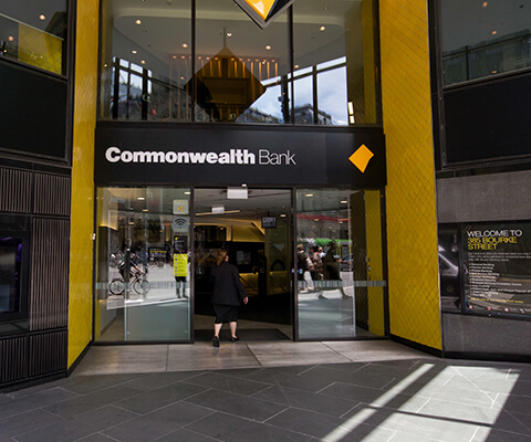 commonwealth bank galleria melbourne