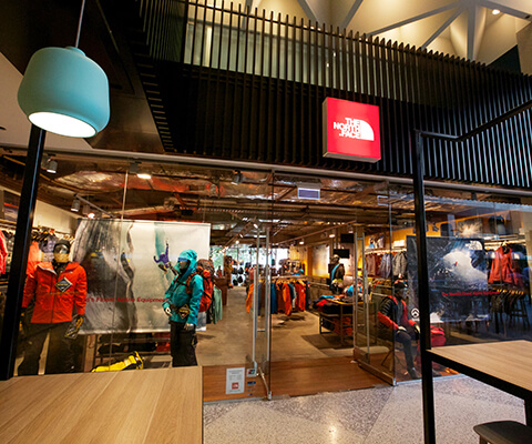 the north face galleria melbourne
