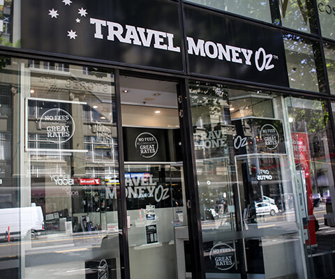 travel money oz galleria melbourne