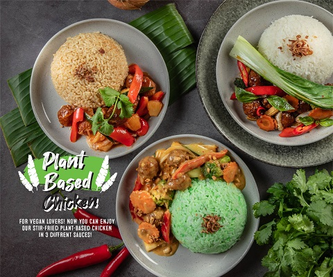 Thailander Plant Based offer
